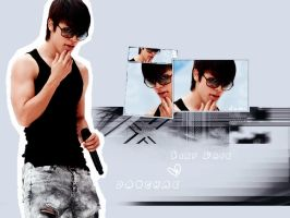 Sexy back .... Donghae by DumiKaT