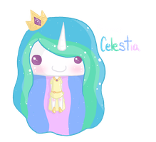 Princess Celestia Fluff by original-emo-jesus