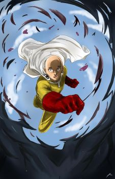 One Punch Man by Dericules