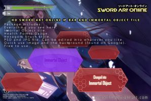 Sword Art Online Gadgets in HD. by sector19