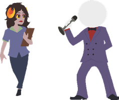 TF2Stuck Aradia and DocScratch by MarshmallowInvader