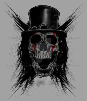 Skull Hat Shirt by fathi-dhia