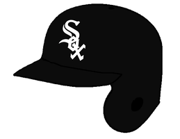 Chicago White Sox Batting Helmet by Chenglor55