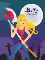 Buffy on Patrol by girl0in0question