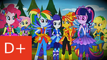 MLP FiM: Equestria Girls Legend of Everfree Review by Cuddlepug