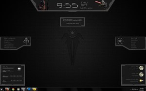 SWTOR desktop UI - Empire by Malir80