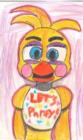 Toy Chica Portait #1 by BalloonChic
