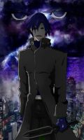 Hei Darker Than Black WIP by fenrirthomasb