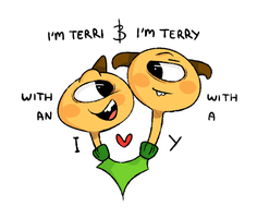 Terri and Terry by Zhuci