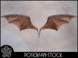 Bat Wings Nude by poserfan-stock