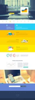 MountiEngineers - Flat Web Design by AryaInk