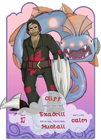 EoD application: Cliff the Excadrill by Contrast-Kitsune