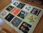 t-shirt quilt by estranged-illusions