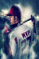 2014 AL MVP : Mike Trout by NO-LooK-PaSS