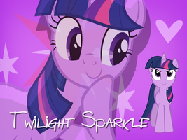 Twilight Sparkle Wallpaper by Ichigooneechan66