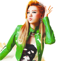 Lizzy (Orange Caramel) PNG [render] by GAJMEditions