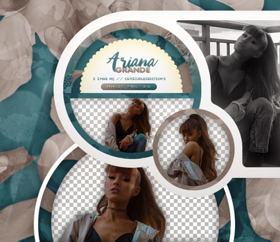 PACK PNG 759 | ARIANA GRANDE by MAGIC-PNGS