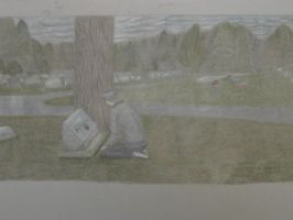 The Graveyard, Second Try by Timid-Dusk