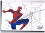 Spider man work color by MXD by Penzoom