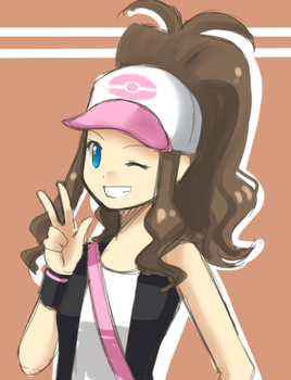 BW Girl trainer doodle by Azelilia