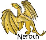 Neroth - The Brown Dragon by arazia