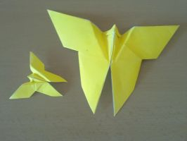 Origami butterflies by YARIN108