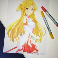 Asuna by SophieTopham
