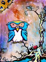 The Legends the Owl Would Tell by NathanielBart