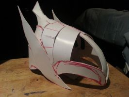 Artorias helm WIP2 by loveshina