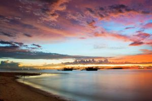 Sky On Karang Tirta by apipro
