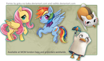 +MLP and other Keychains+ by goku-no-baka