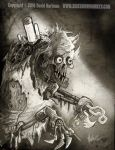 THE OLD TERROR by Hartman by sideshowmonkey