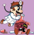Dr. Mario and Fever by spaceboystudios