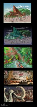 Lion King Attraction Concept by KIRKparrish