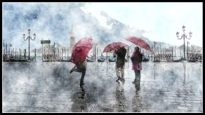 Venice Under the Rain by kanes