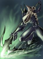 Lance the Lancer by crypt-lord