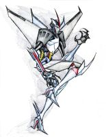 Transformers Prime Starscream by winddragon24