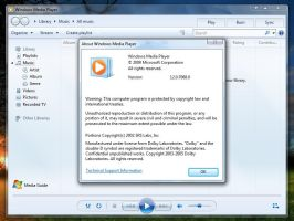 Windows Media Player 12.0.7068 by Misaki2009
