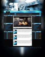Gaming Site by RizzeD