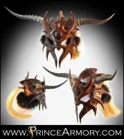 Barbarian Helmet by Azmal