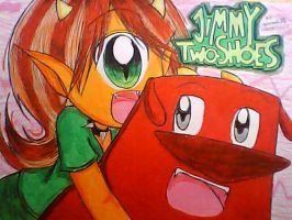 Jimmy Two-Shoes - Saffi and Beezy Manga Style by MarionetteJ2X