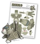 Papercraft Kitty - Mongo by smhill