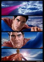 THE REEVE SUPERMAN LEGACY by supersebas