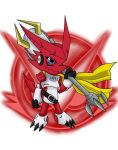 Digimon Hunters - King Shoutmon by IceNinjaHard