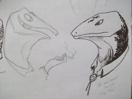 Lizards of Wichita County - Suits and Ace by Mothmona