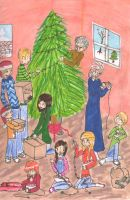 Sisters Grimm Christmas Contest by Birgj