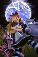 Alice In Nightmareland Cover by Elisa-Feliz