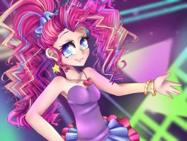 MLP:Friendship through the ages - Pinkie Pie by IPonyLover