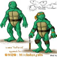 Experimental TMNT design by Kobb