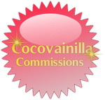 Cocovainilla Commissions Stamp by TheRedCrown
